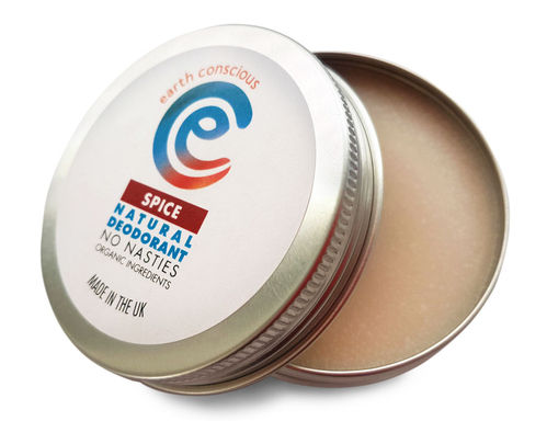 Earth Conscious Natural Deodorant - Spice