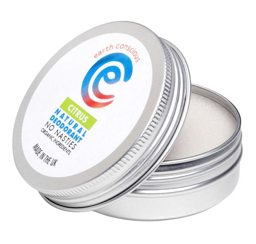 Earth Conscious Natural Deodorant - Citrus