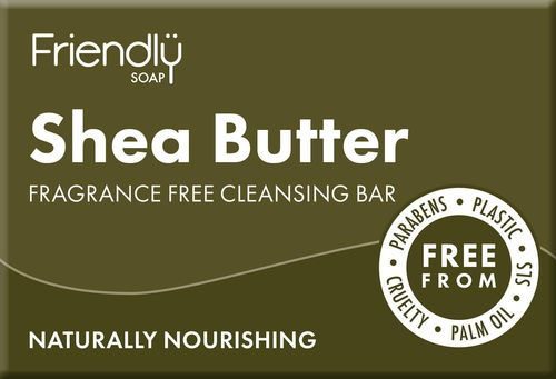 Friendly Natural Shea Butter Cleansing Bar