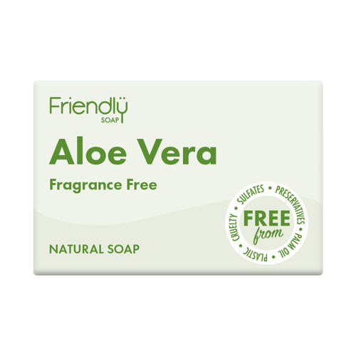 Friendly Aloe Vera Soap