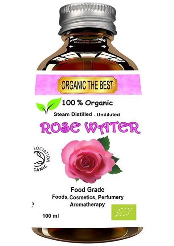 Organic the Best Rose Water