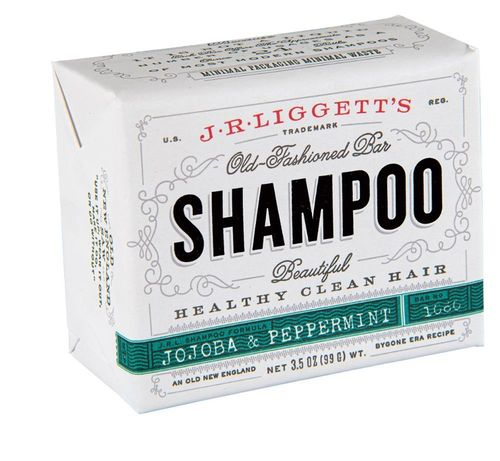 J.R Liggett's Old Fashioned Jojoba & Peppermint Shampoo Bar