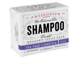 J.R Liggett's Old Fashioned Tea Tree & Hemp Oil Shampoo Bar