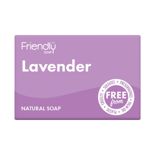 Friendly Natural Lavender Soap Bar