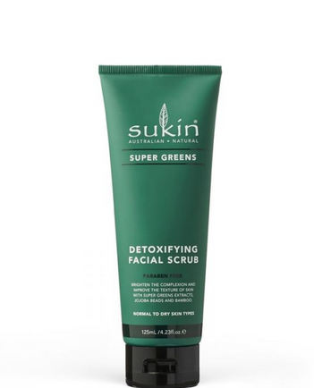 Sukin Supergreens Facial Scrub